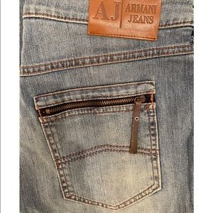 ARMANI JEANS Straight Jeans Sz 28